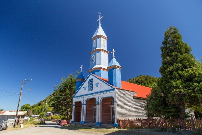 Iglesia de Nuestre Señora del Patrocinio in Tenaún