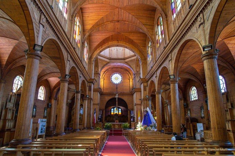 Inside of Iglesia San Francisco in Castro