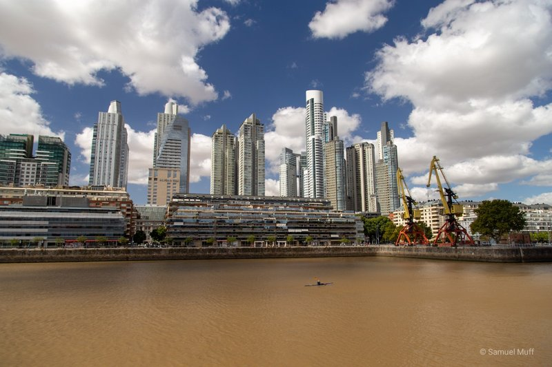 Skyscrapers of Puerto Madero