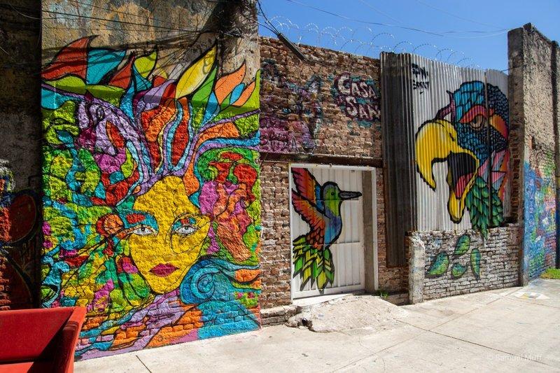 Murals in La Boca