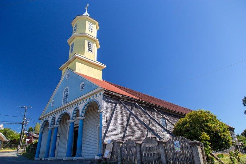 Iglesia Nuestra Señora del Rosario in Chonchi