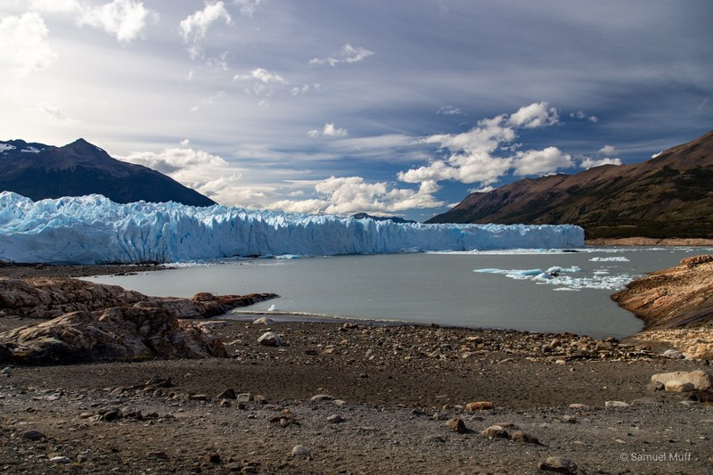 Perito Moreno glacier from the South