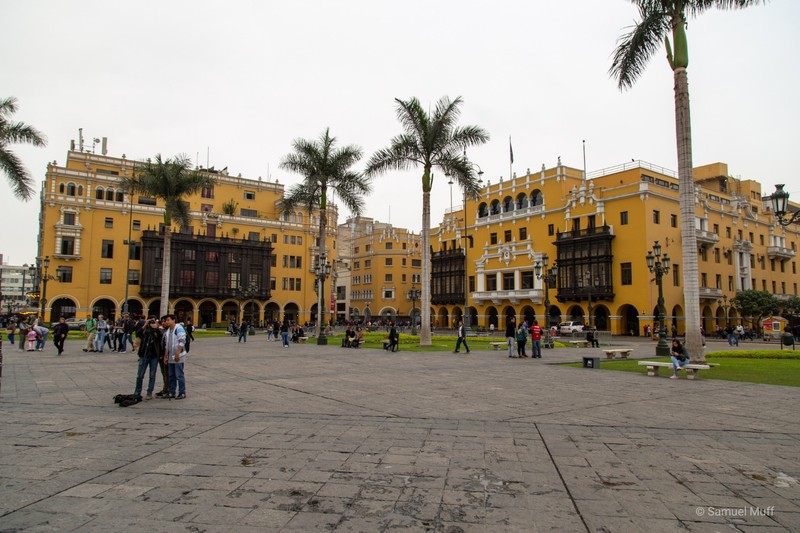 Plaza Mayor in Lima