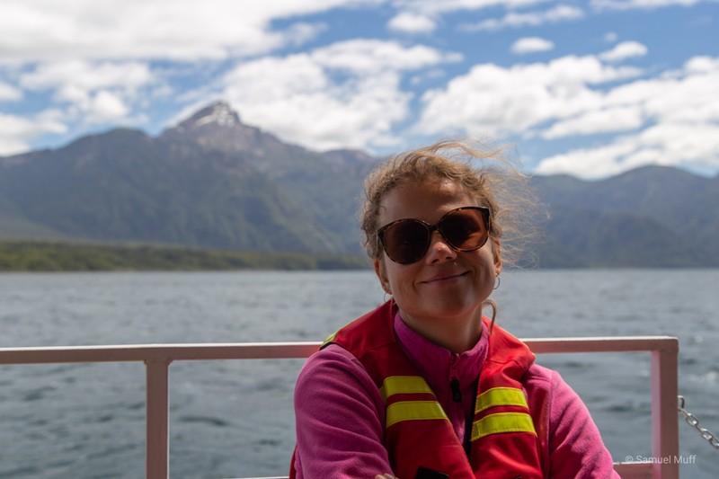 Marta on Lago Todos Los Santos
