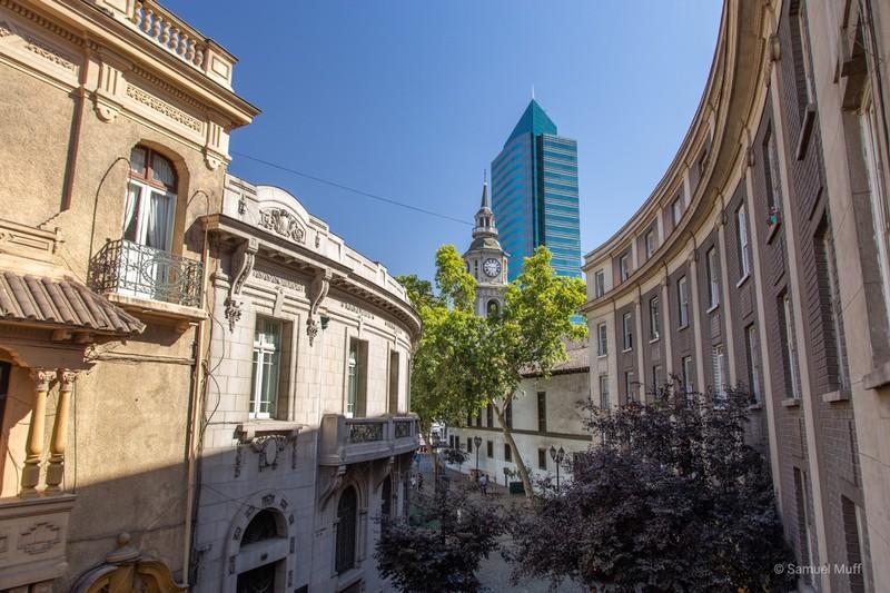 Londres street in Santiago
