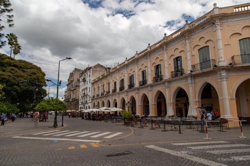 Plaza 9 de Julio in Salta