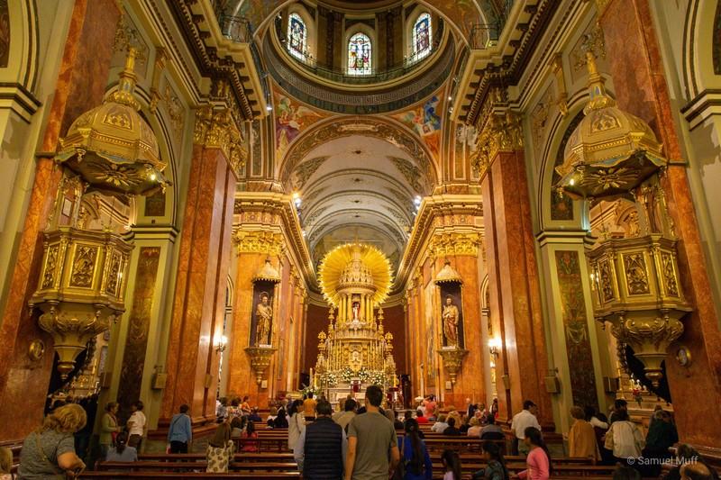 Inside of Catedral Basílica de Salta