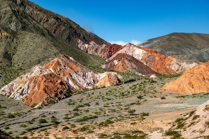 Colorful mountains near Purmamarca