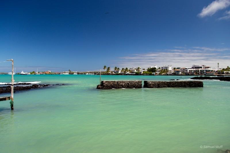 Bay of Puerto Ayora
