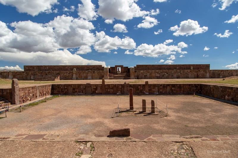 Tiwanaku archaeological site