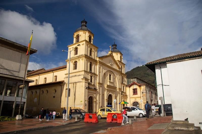 Iglesia de Nuestra Señora de la Candelaria in Bogota