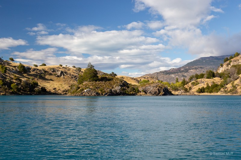 Landscape on Lago General Carrera