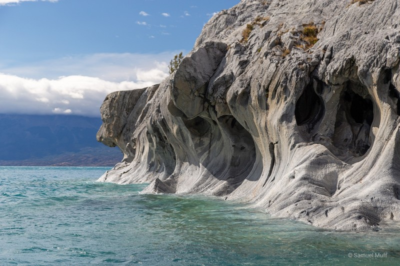 Marble Cave formation resembling a dog