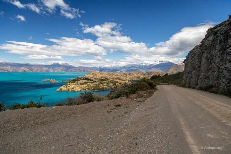 Carretera Austral with views over Lago General Carrera