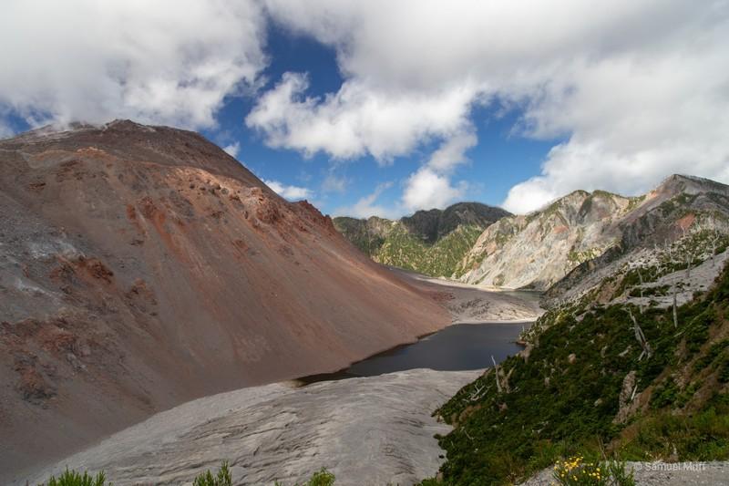 Valley around Volcán Chaitén