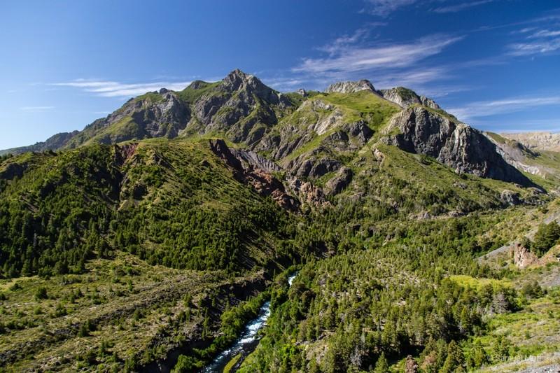 Mountain in Parque Nacional Laguna del Laja