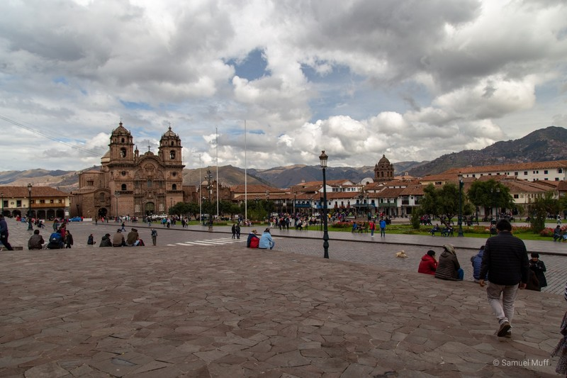 Main plaza of Cusco