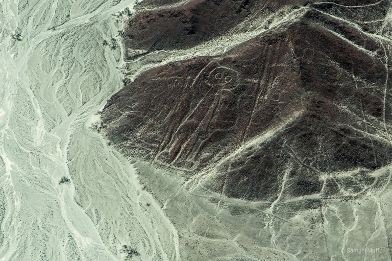 'Astronaut' figure of the Nazca Lines