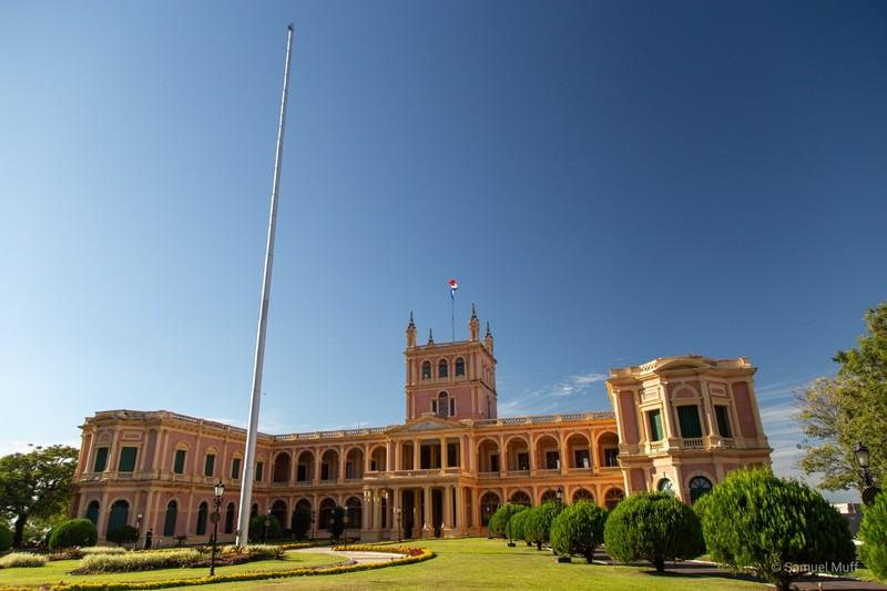 Palacio López (presidential palace) in Asunción