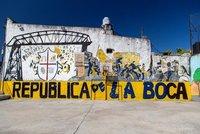 Mural in La Boca