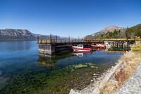 Boats at Lago Traful
