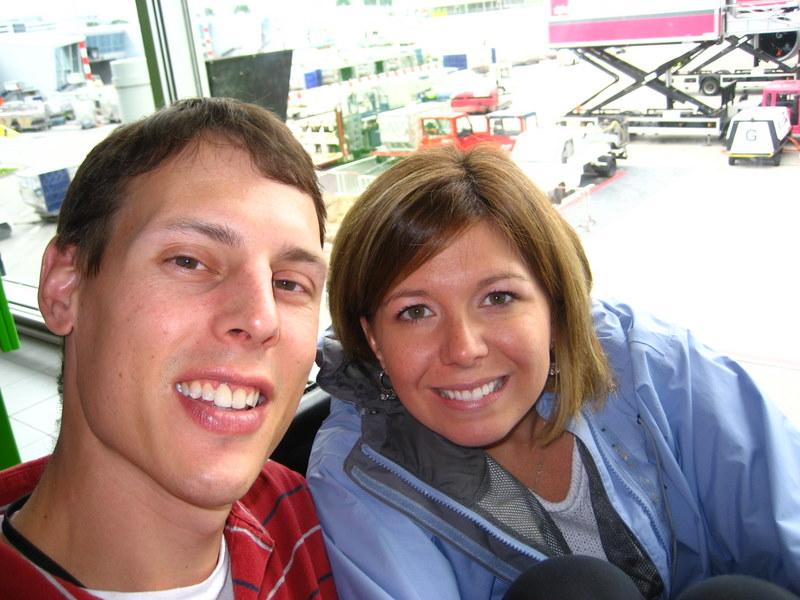 Us at Amsterdam Airport