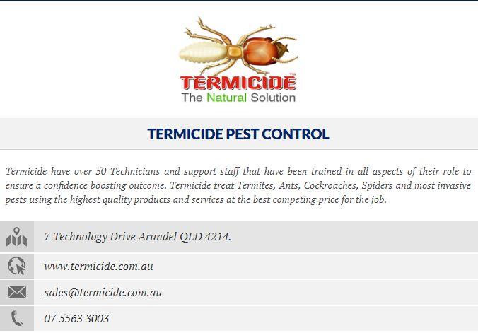 Pest inspection Gold Coast