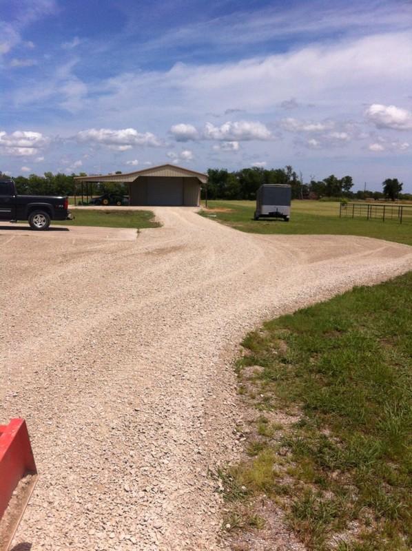 New Gravel Driveway - JW Tractor Work