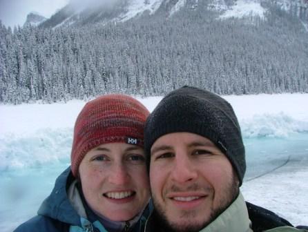 The Two Kiwis at Lake Louise