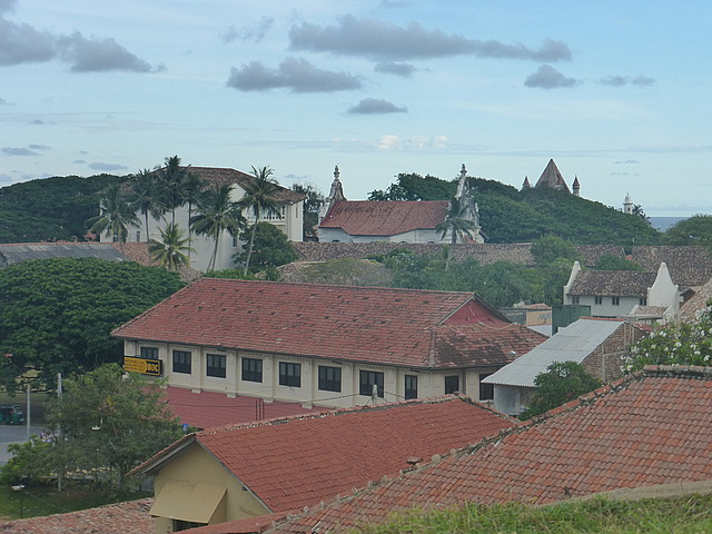 Galle Fort - roofs