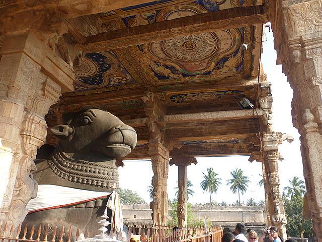 Big Temple - Nandi (Shiva'a sacred bull)