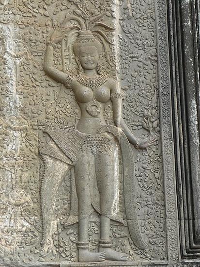 Angkor Apsala Detail