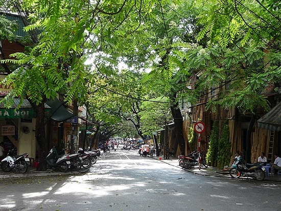 Old Hanoi with the sun shining !