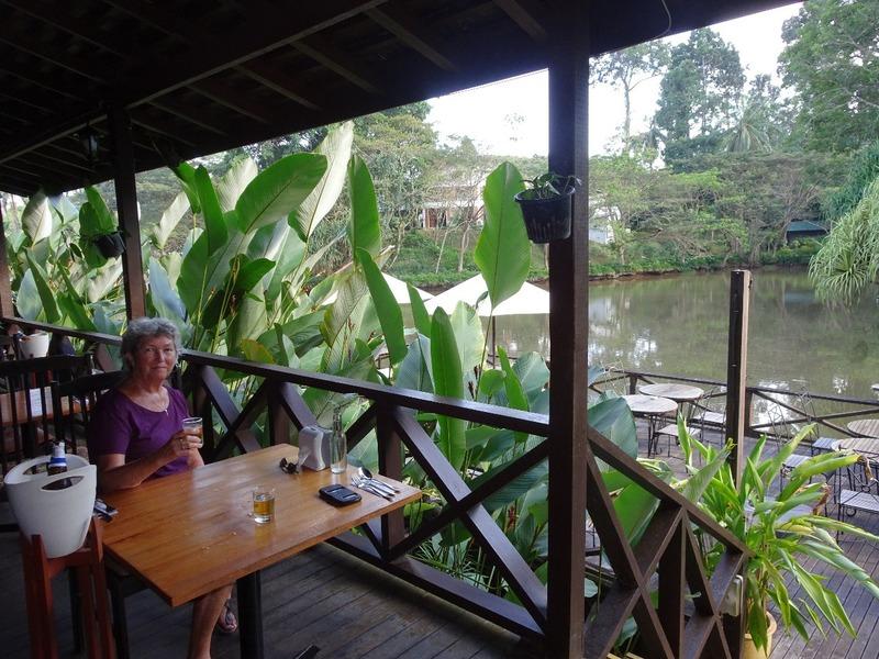 Afternoon beer at Nature Resort Sepilok