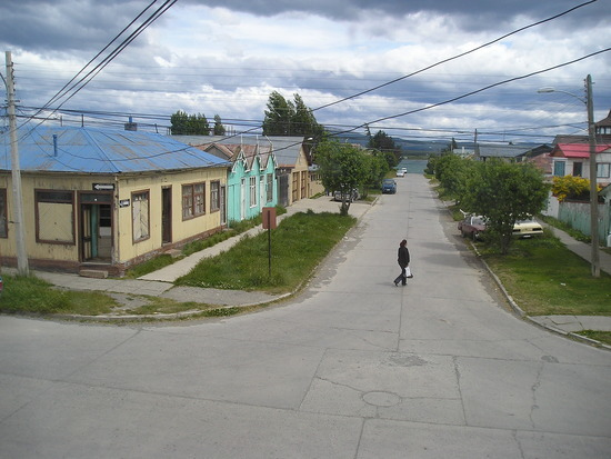 Puerto Natales - View from room