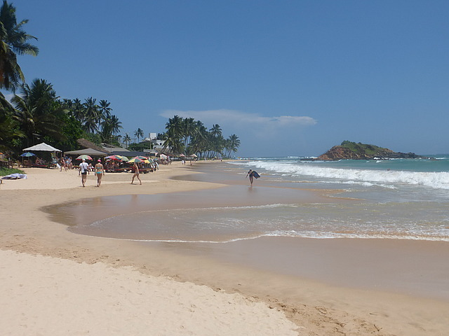 Mirissa - main beach