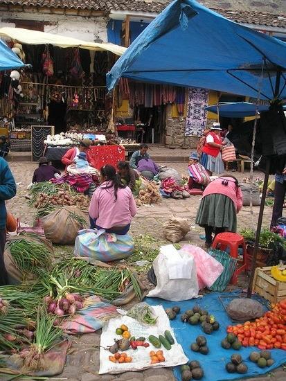 Pisac  Sunday Market 5