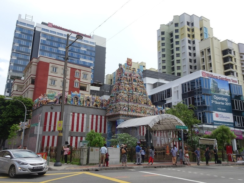 Little India - Hindu Temple and surroundings!