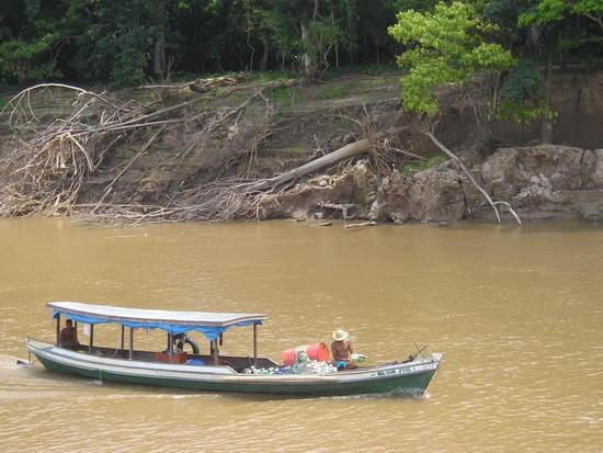 Amazon Boat - view