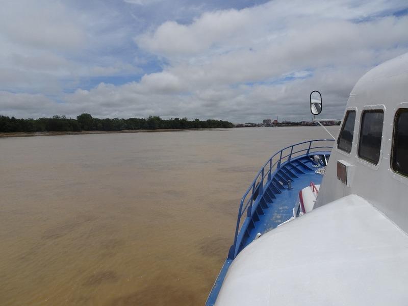 Up the Renjang river