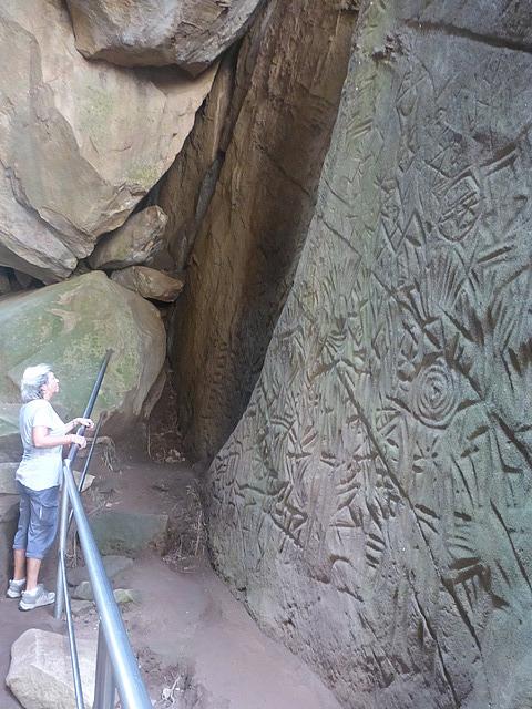 Edakal Caves - drawings