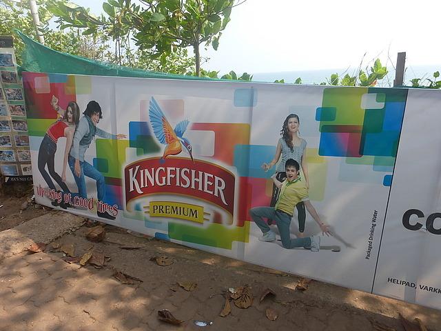 Kingfisher!  Premium Water!!!