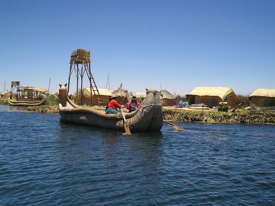 Uros - Floating Islands trip 1