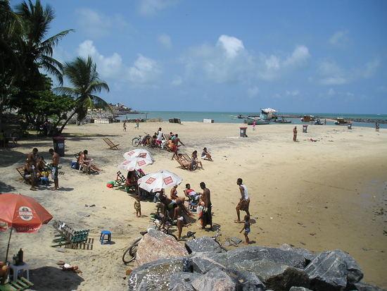 Olinda Beach - Nice for a beer, not a swim