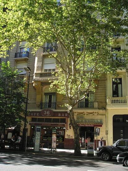 BA - Our hotel   36 billares bar next door