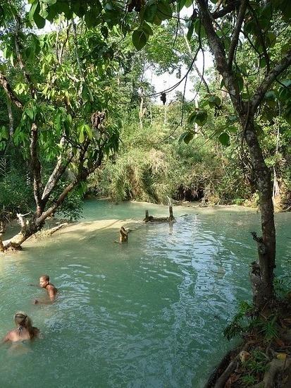 Kwang Si Waterfalls 3