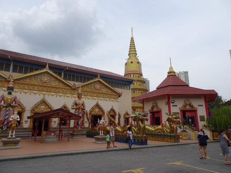 Wat Chaiya Mangalaram (Thai) temple