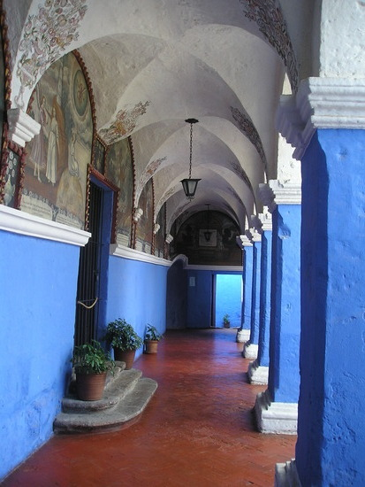 Santa Caterina Convent - Courtyard