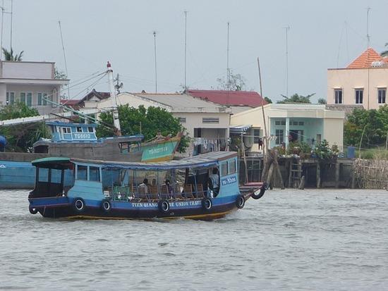 Mekong River near My Tho