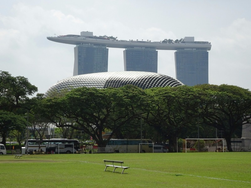 From Padang to Marine Bay Sands